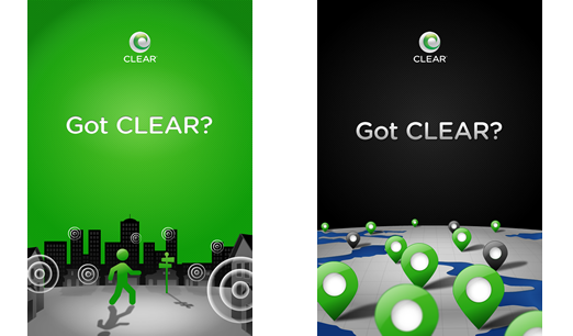 Got Clear? app loading screens